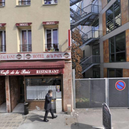 Hôtel de la Paix - Hôtel - Montreuil
