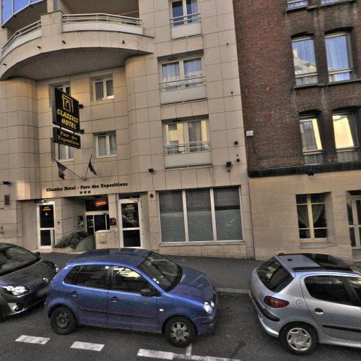 Classics Hôtel Parc des Expositions - Parking public - Issy-les-Moulineaux