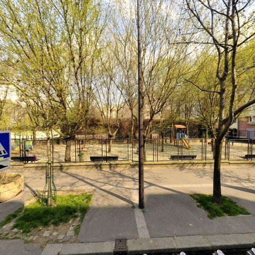 Jardin des Cendriers Dit des Amandiers - Parc, jardin à visiter - Paris
