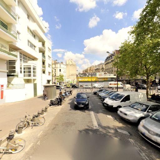 Station Vélib' Jacques Kellner - Saint-Ouen - Vélos en libre-service - Paris