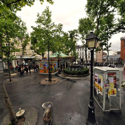 Place des Abbesses - Attraction touristique - Paris