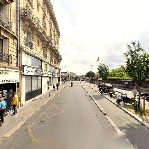 Station Vélib' Damrémont - Caulaincourt - Vélos en libre-service - Paris