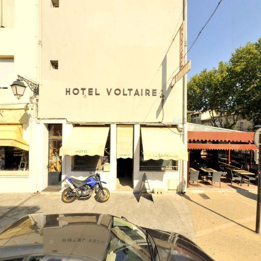 Hôtel Voltaire - Restaurant - Arles