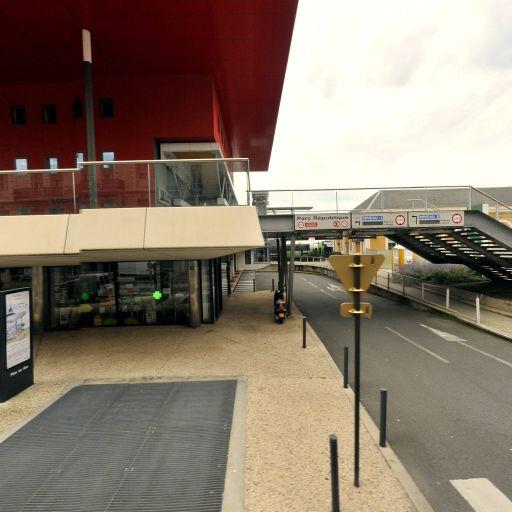 Parking Parc République - Parking - Roanne
