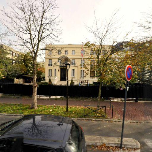 Ambassade de Mongolie - Ambassade et consulat - Boulogne-Billancourt