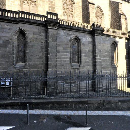 Église Saint-Genès des Carmes - Église catholique - Clermont-Ferrand