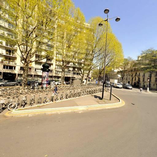Station Vélib' Place de Barcelone - Mirabeau - Vélos en libre-service - Paris
