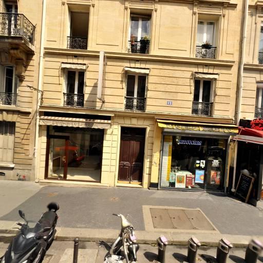 Station Vélib' De Toqueville - Terrasse - Vélos en libre-service - Paris