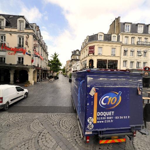 Place Drouet-d'Erlon - Attraction touristique - Reims