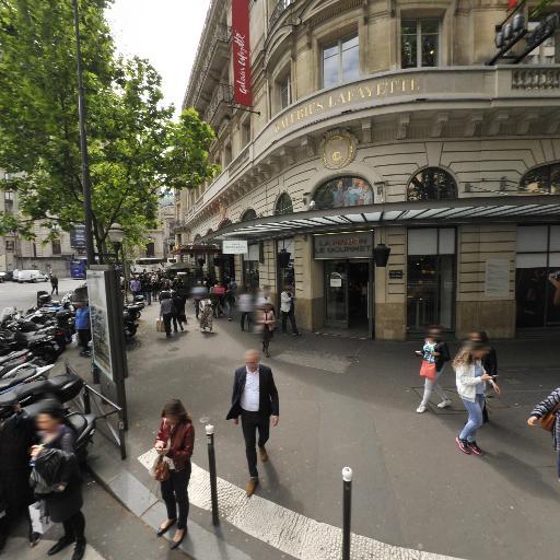 Haussmann Galeries Lafayette - Parking - Paris