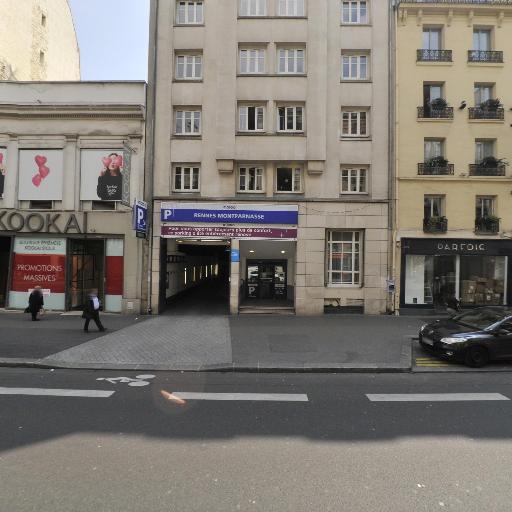 Parking Rennes Montparnasse - Parking public - Paris