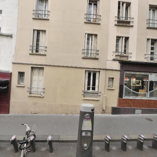 Station Vélib' Sambre et Meuse - Villette - Vélos en libre-service - Paris