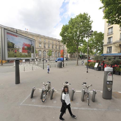 Station Vélib' Gare de l'Est - Verdun - Vélos en libre-service - Paris