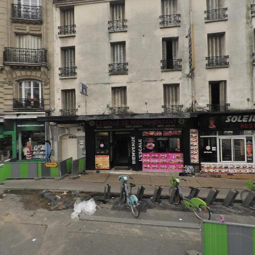 Station Vélib' Ménilmontant - Oberkampf - Vélos en libre-service - Paris