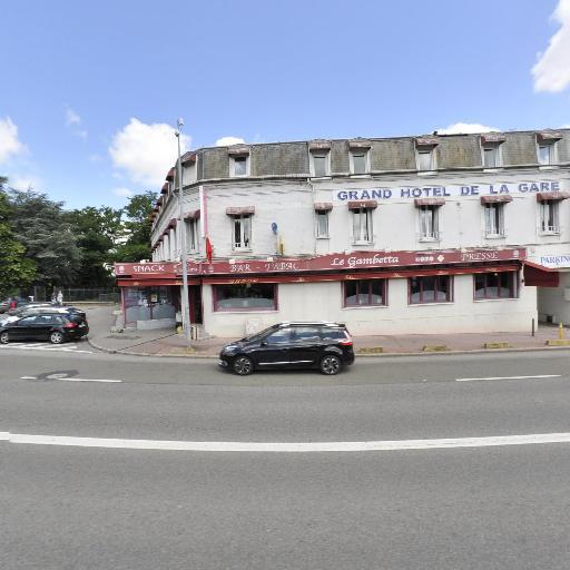 Grand Hotel De La Gare - Restaurant - Évreux