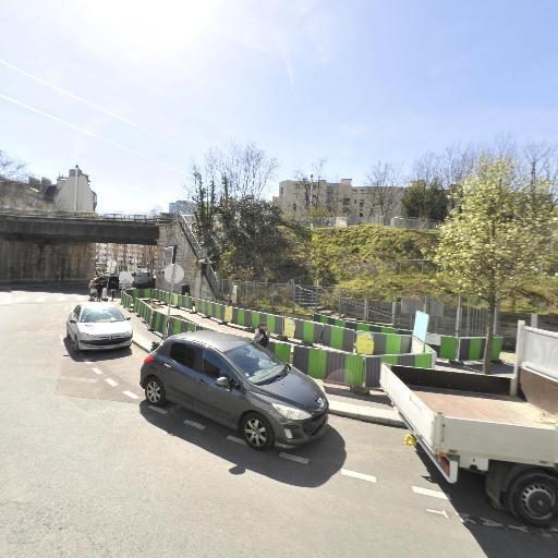 Station Vélib' Place Robert Guillemard - Vélos en libre-service - Paris
