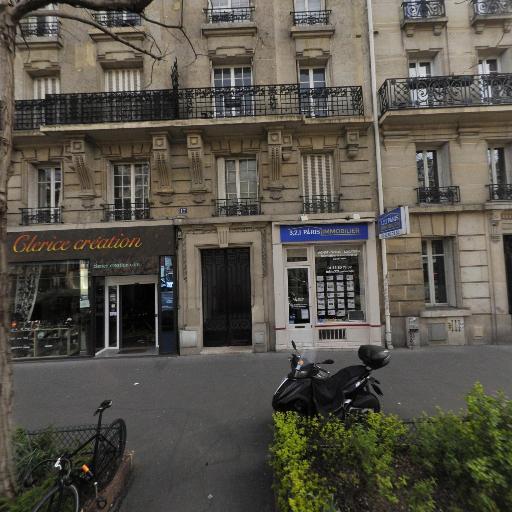 3 2 1 - Agence immobilière - Paris